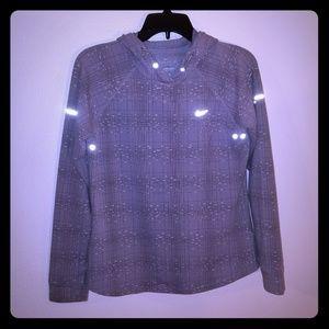 Nike running sweatshirt. With reflectors